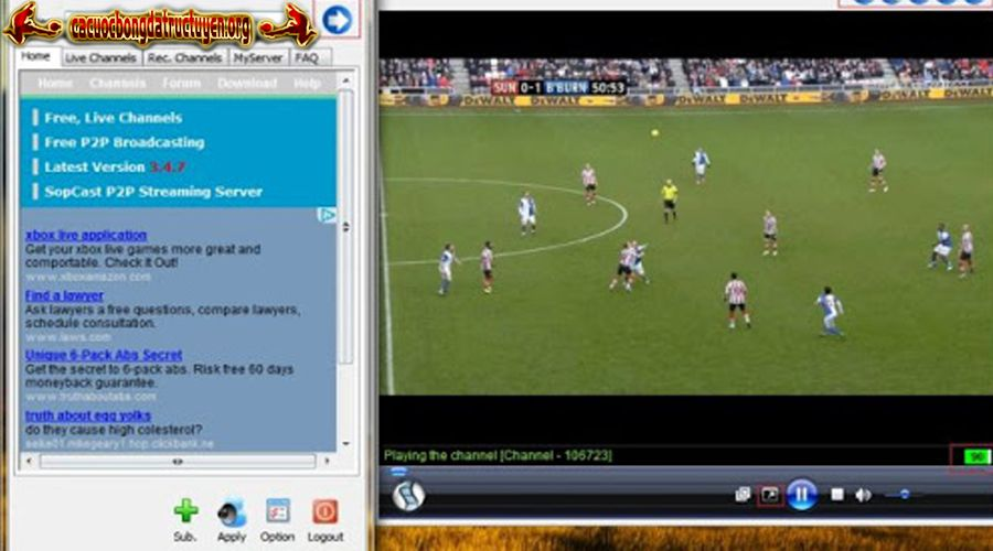 Sopcast Android